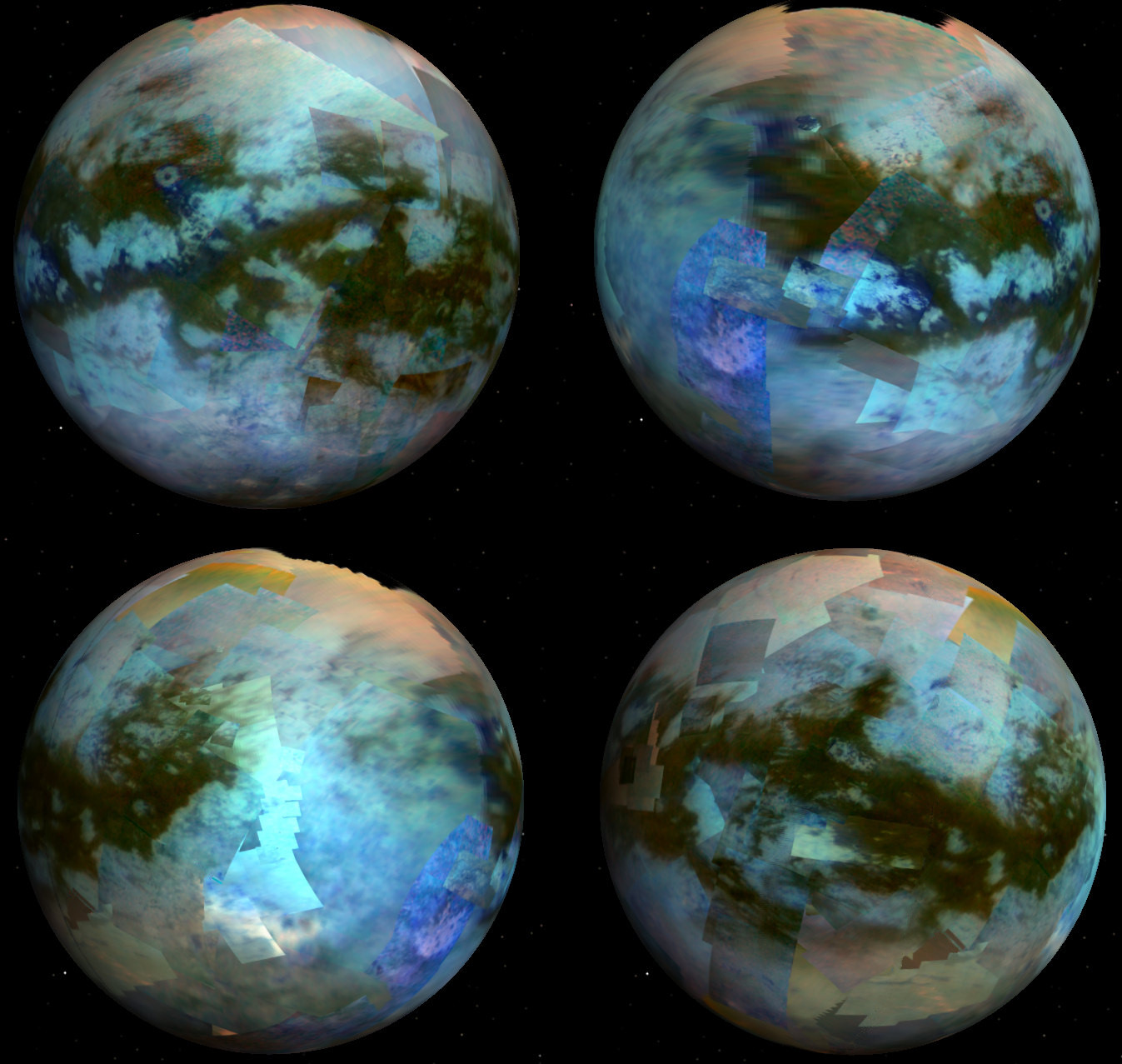 New Map of Saturn Moon Titan Reveals Surprisingly Earth-Like Features