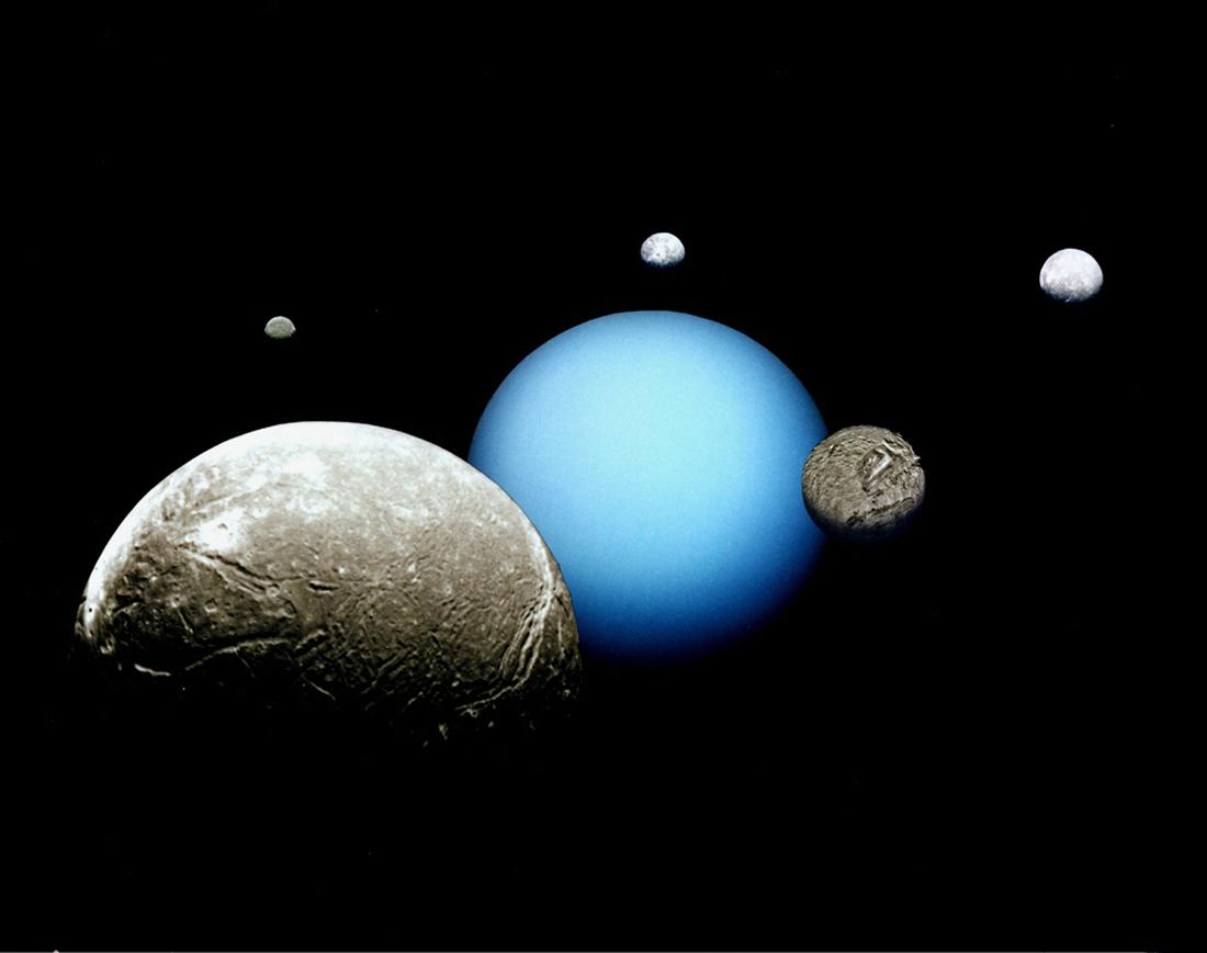 Risultati immagini per Uranus two moon