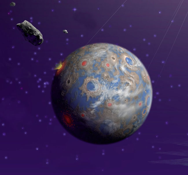 Is Earth's Life from Mars?