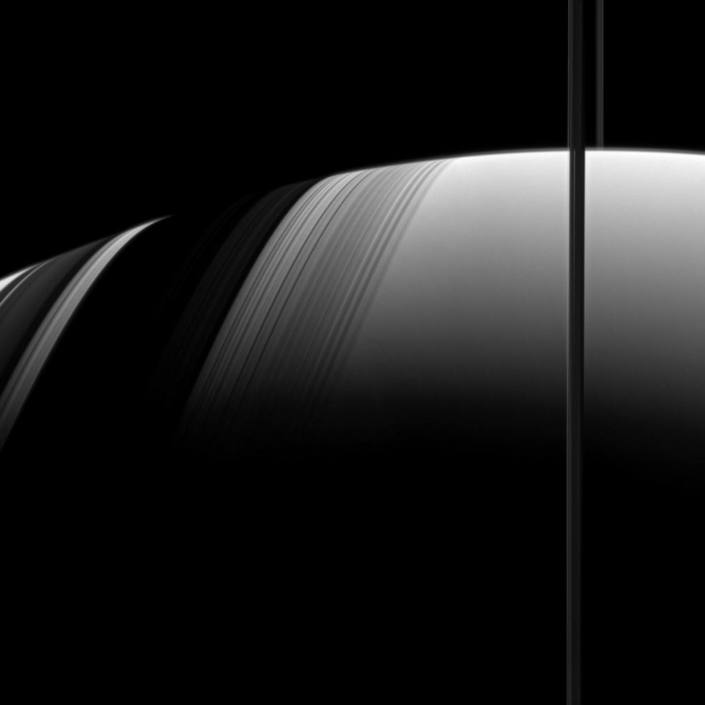 Shadows of Saturn's Rings