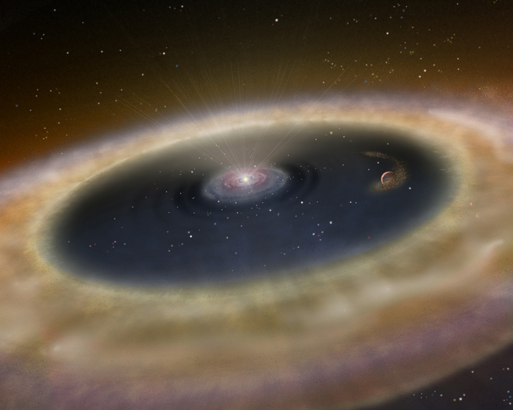 Astronomers Spot Birth Of Alien Planet for First Time