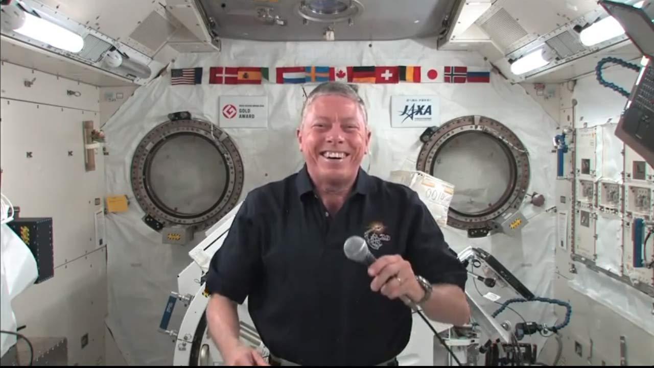 Space Station Commander Mike Fossum Speaks with SPACE.com