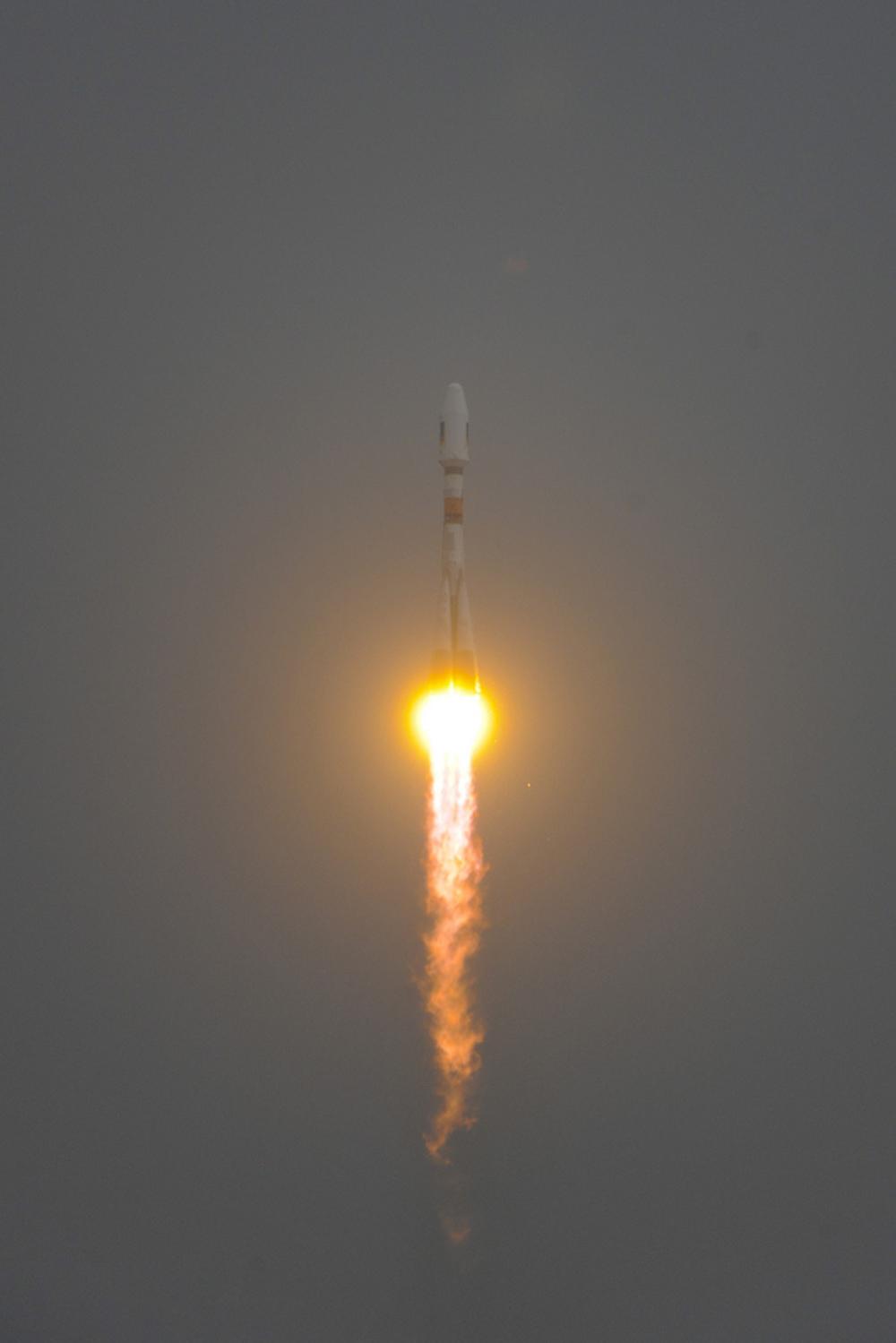 Soyuz VS01 Launched