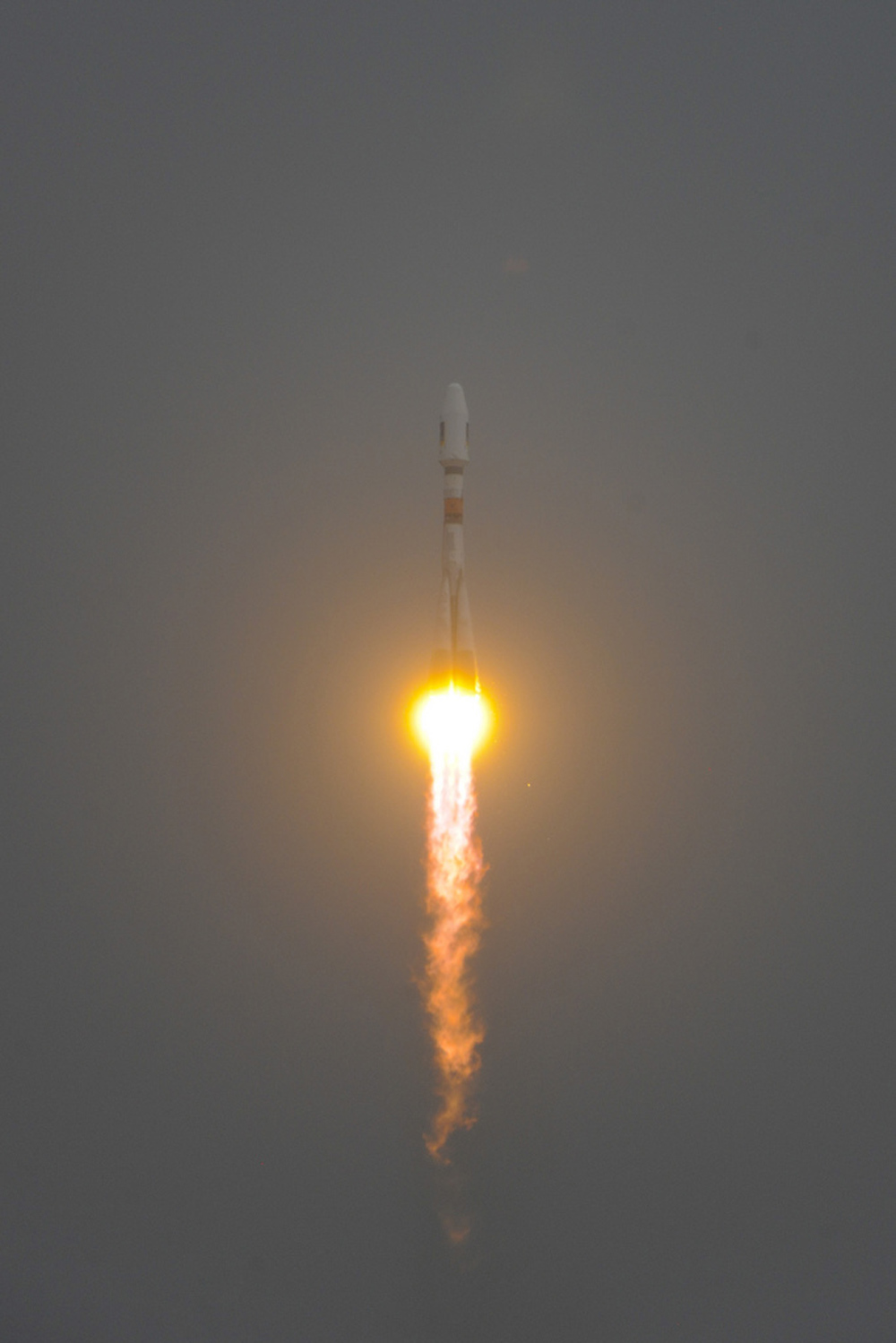 Russian Rocket Launches From South America in Space First
