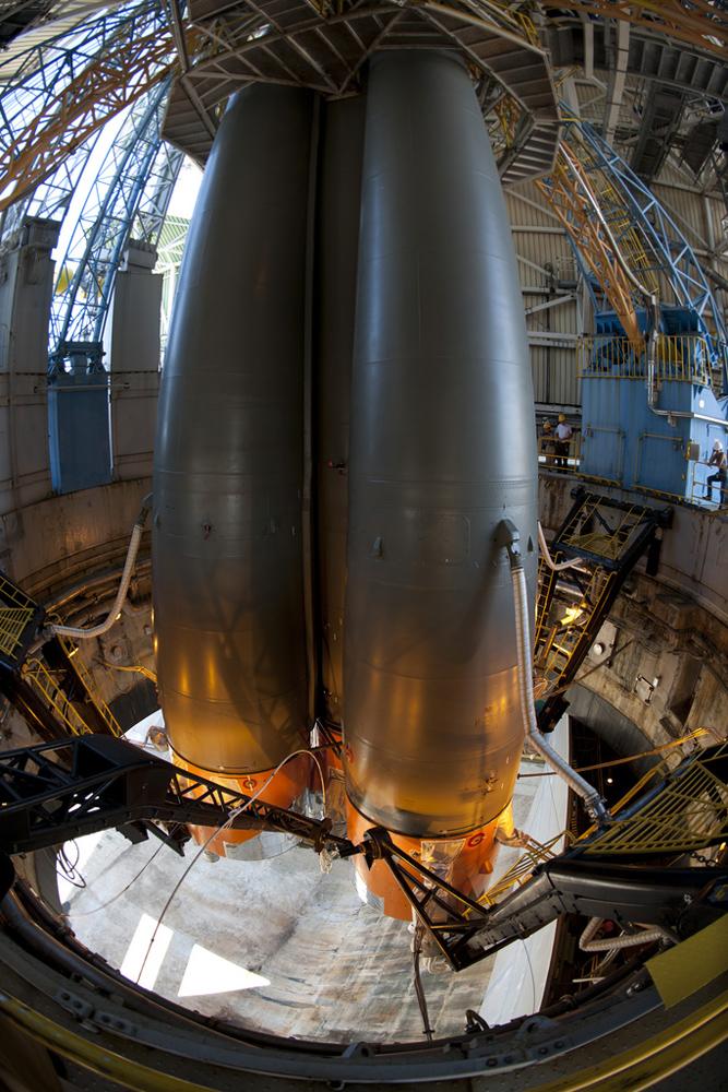 Soyuz VS01 Lower Portion