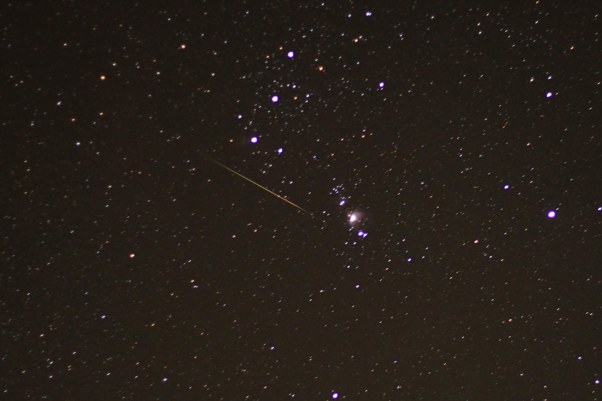 2011 Orionid Meteor Shower: Brian Emfinger