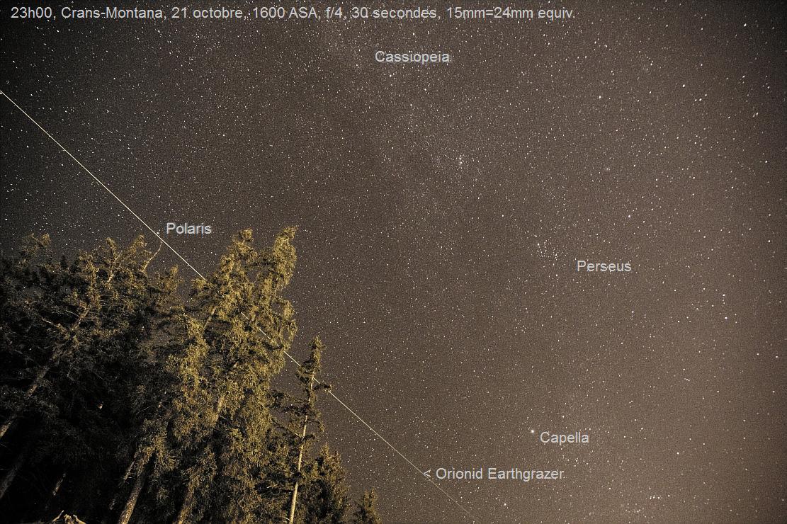 2011 Orionid Meteor Shower: Olivier Staiger