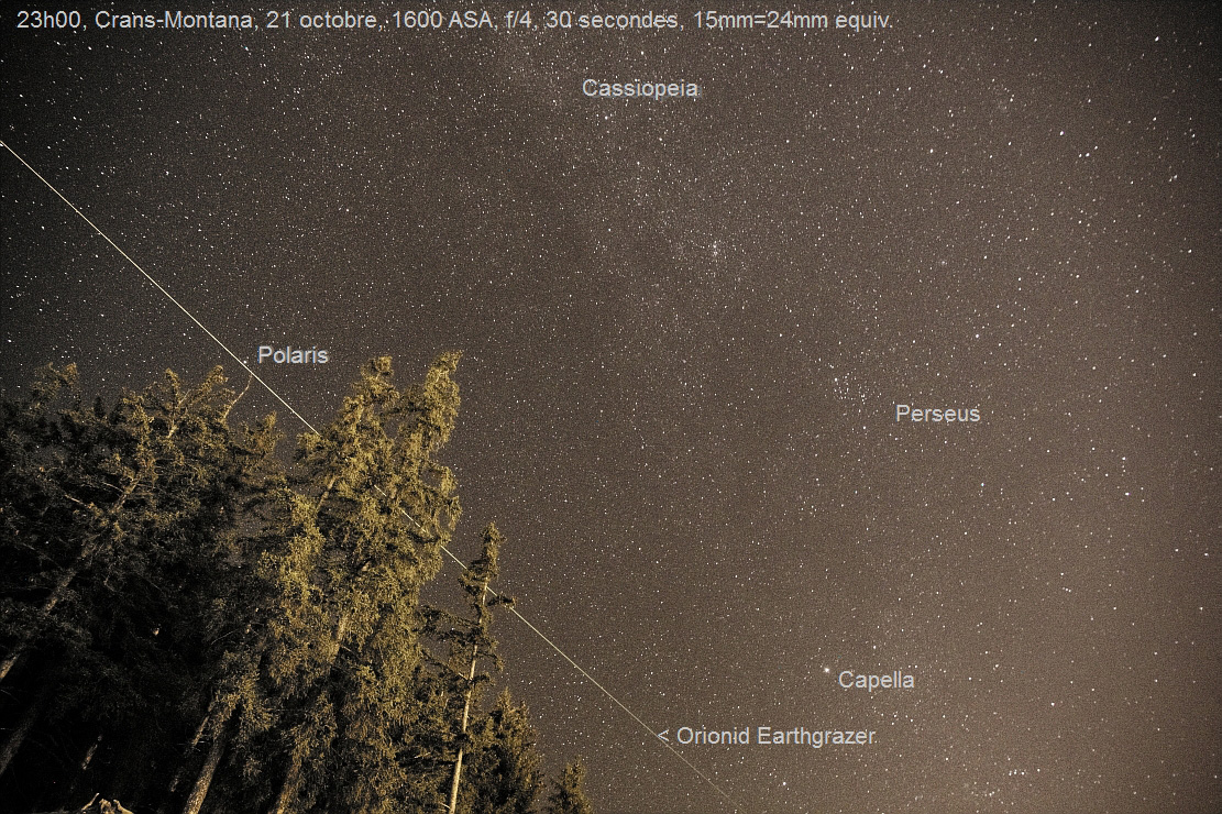 Orionid Meteor Shower Wows Weekend Skywatchers