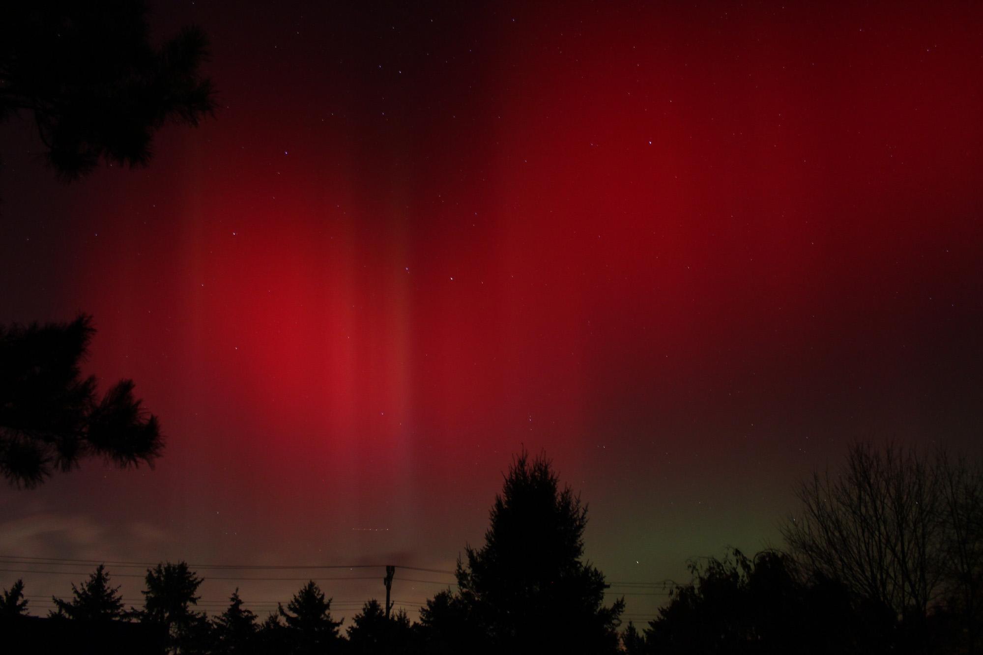 Northern Lights of Oct. 24, 2011: Samuel Hartman