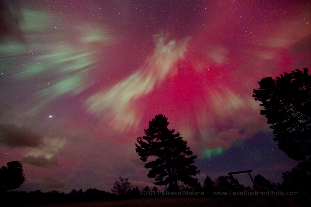 October's Spell-Binding Northern Lights Display