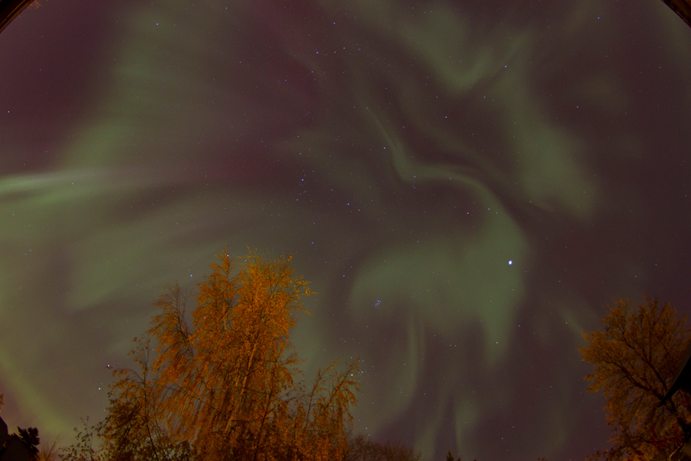 Aurora over Saskatoon, SK, Canada