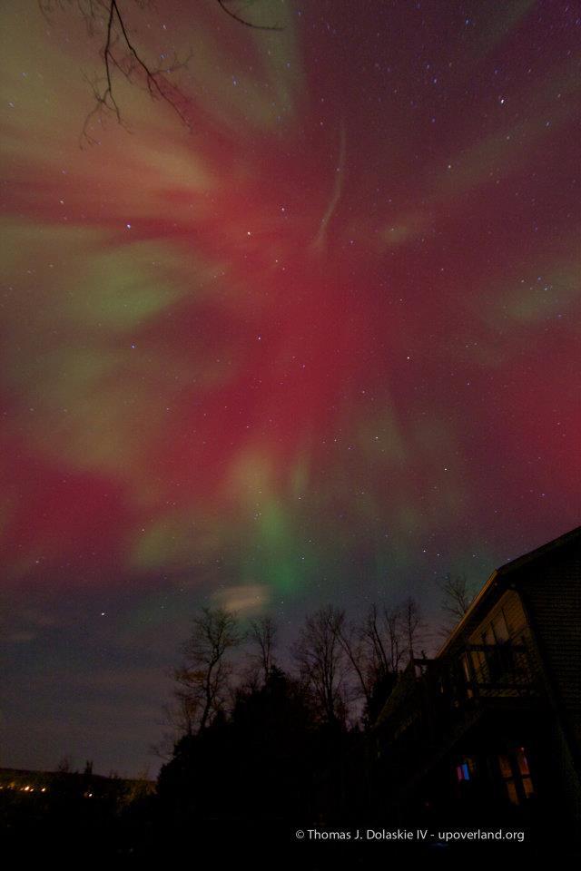 Aurora over Munising, Michigan 1