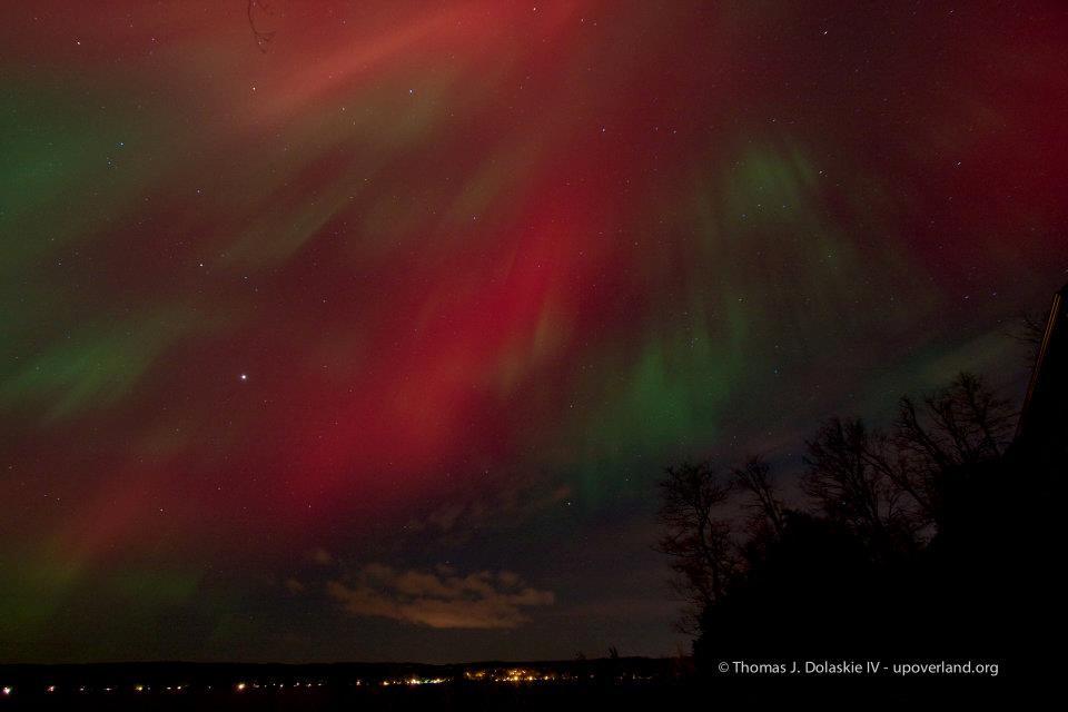 Aurora over Munising, Michigan 2