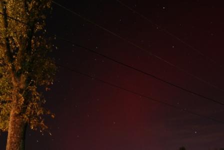 Aurora over Western Kentucky