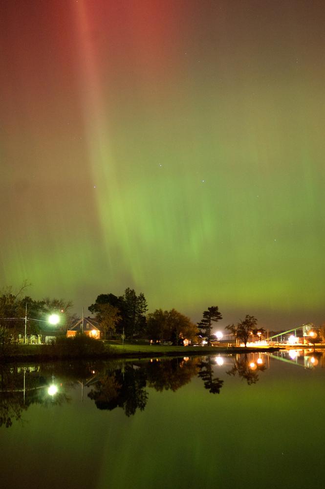 Aurora Outside of Grand Rapids, Michigan 1