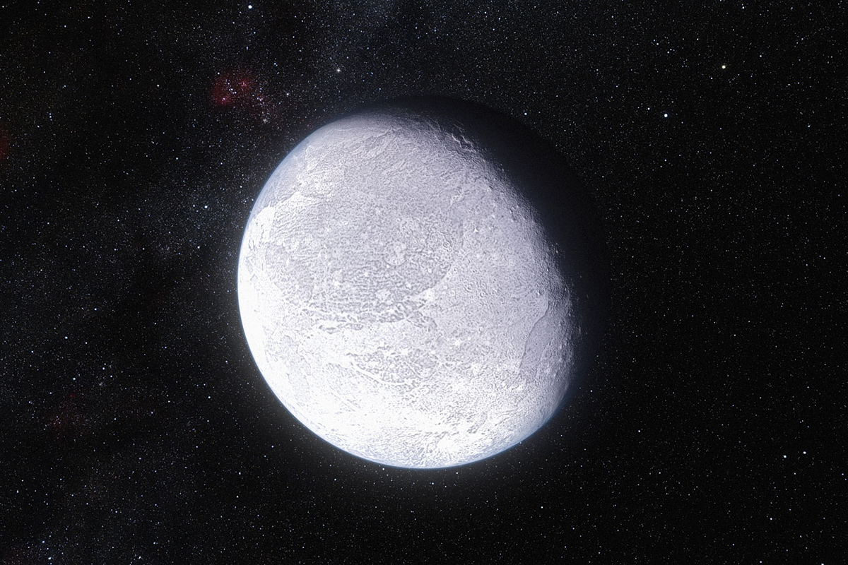 Artist's Impression of Dwarf Planet Eris