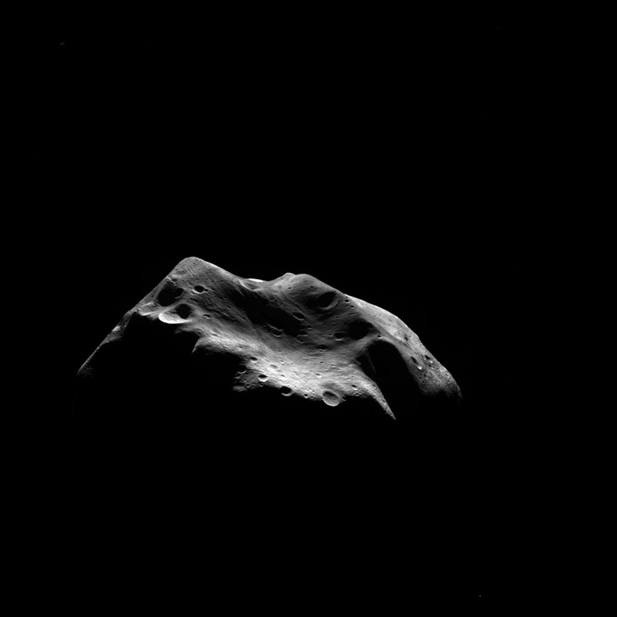 Asteroid Lutetia Seen by OSIRIS July 2010 1