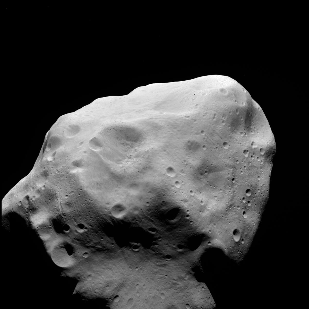 Asteroid Lutetia Seen by OSIRIS July 2010 2