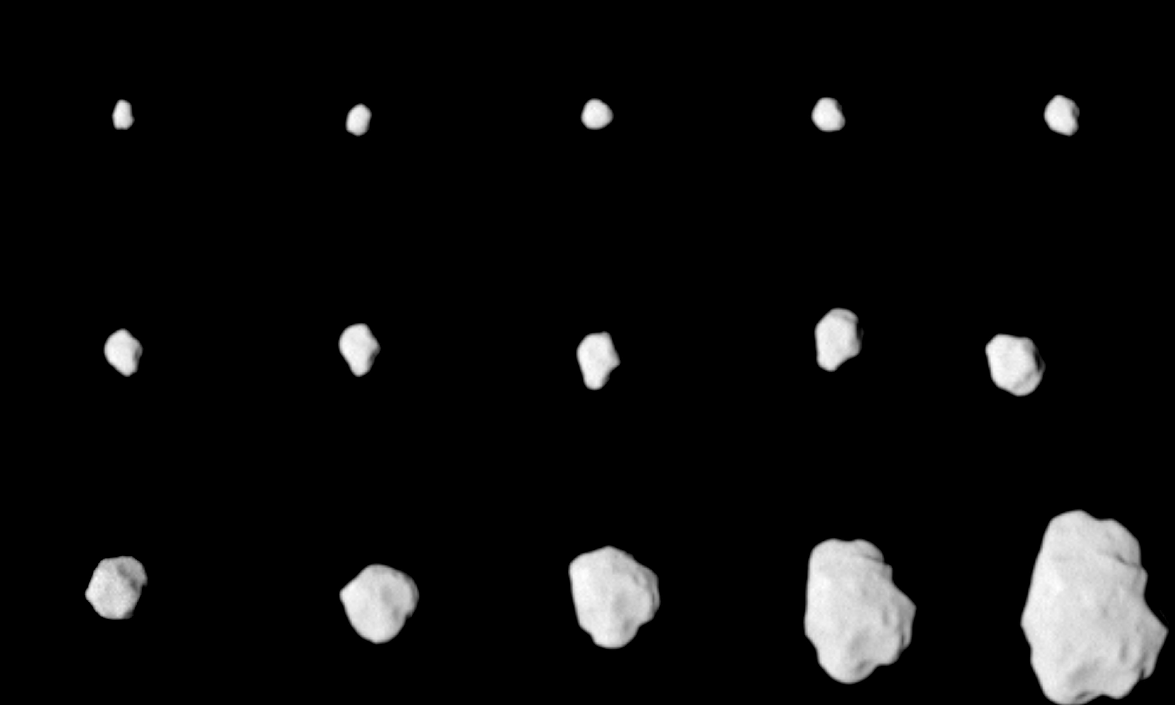 Asteroid Lutetia: Target in Sight