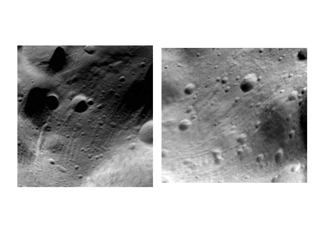 Groovy Asteroid Lutetia Craters