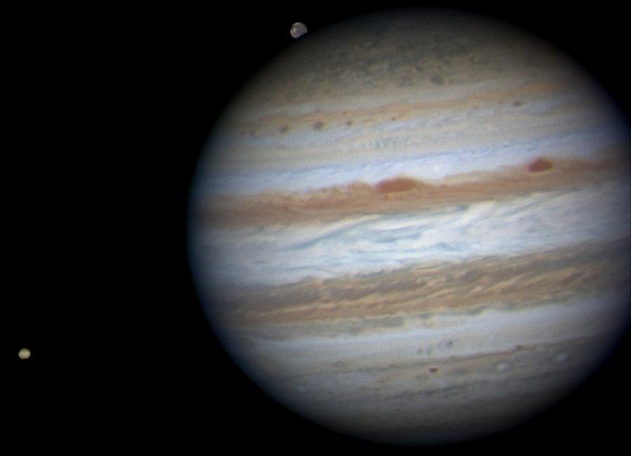 Jupiter Near Opposition