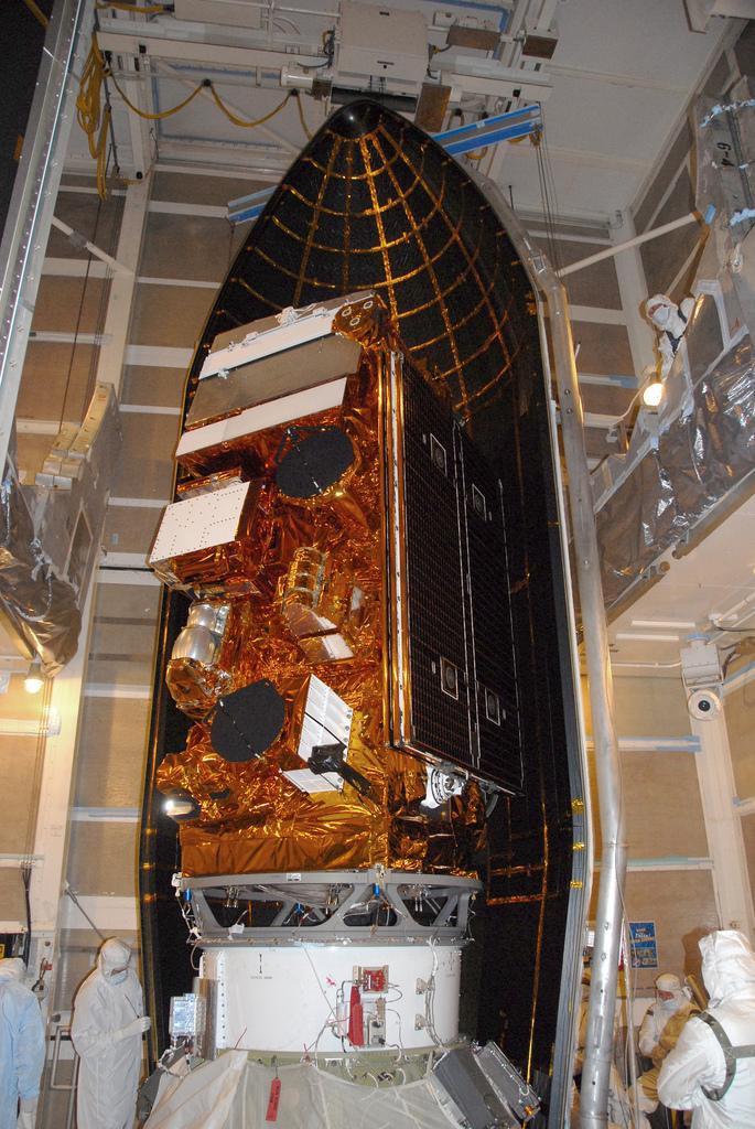 NPP Satellite in the Fairing
