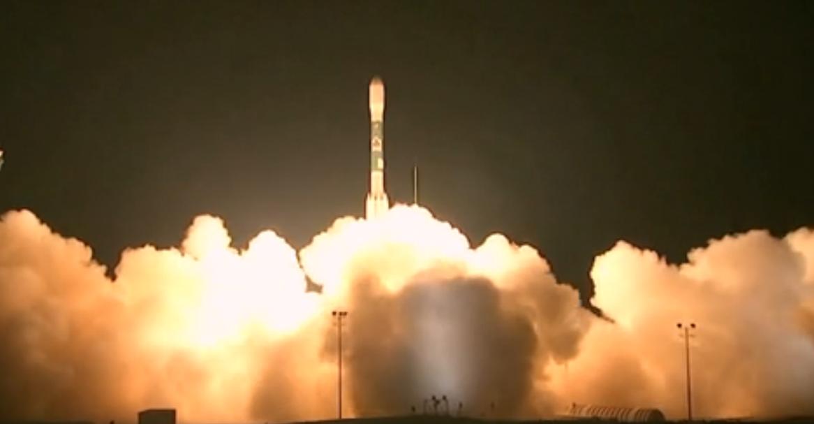 Launch of NASA's NPP Satellite