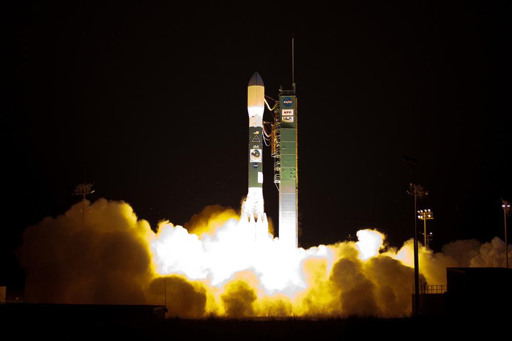 Photos: NASA's Novel NPP Weather & Climate Satellite