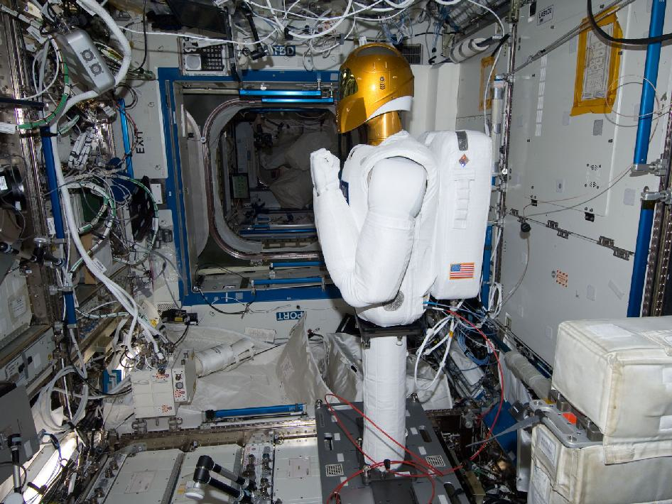 Robonaut 2 at Destiny Laboratory
