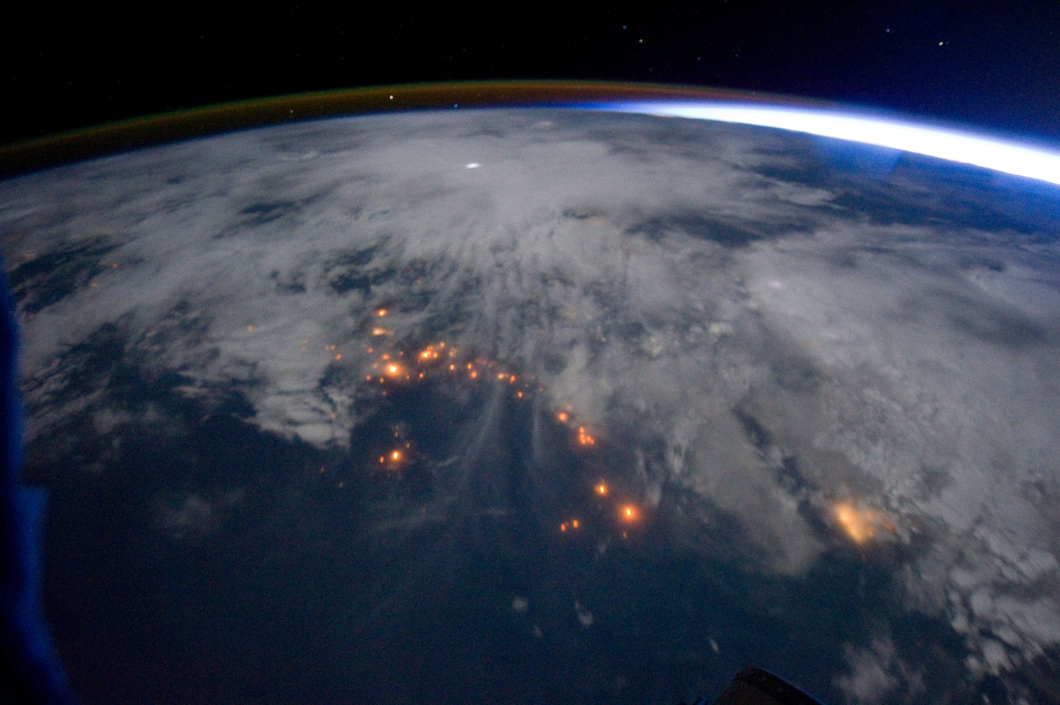 Expedition 29 Nighttime Image of West Africa