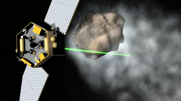 NASA Studies 'Tractor Beams' for Stardust-Snatching Robot Probes