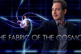 "Physicist Brian Greene hosts the NOVA series ""The Fabric of the Cosmos"" on PBS."