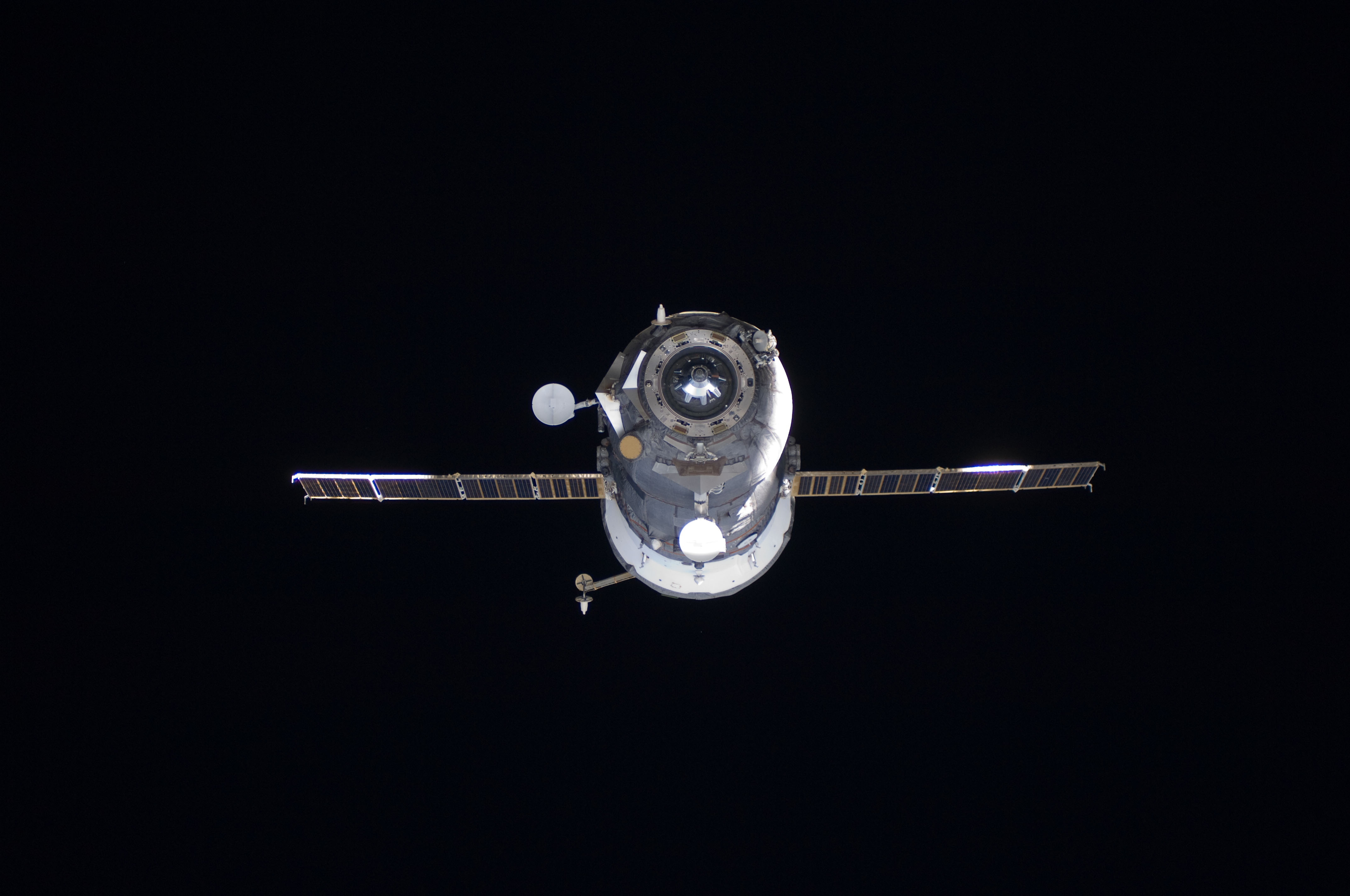 The Progress 42 Vehicle Departs the International Space Station