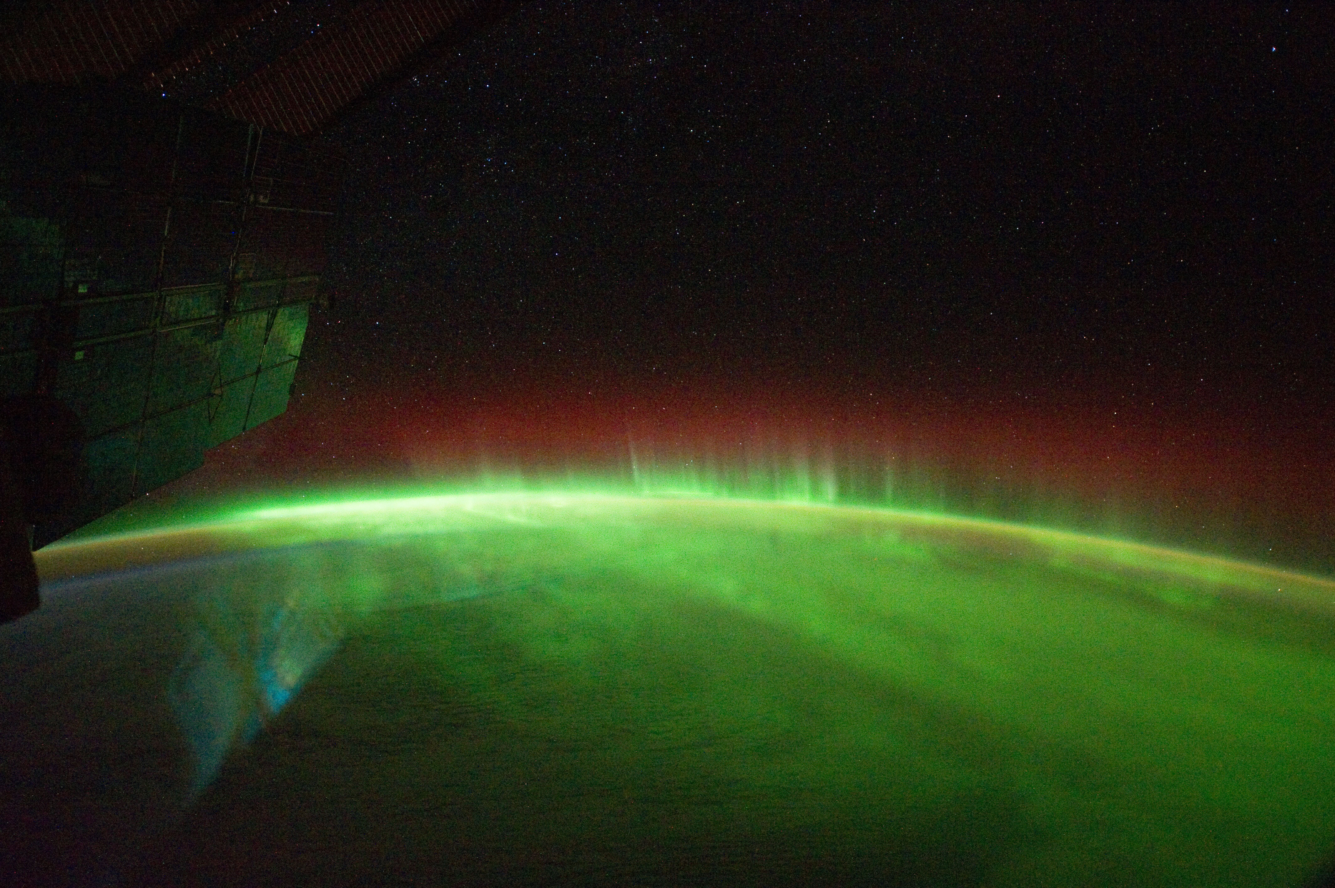 Aurora Australis Taken by Expedition 29 Member