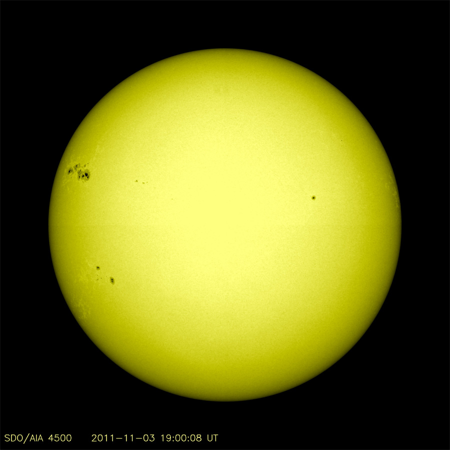 Largest Sunspot in Years