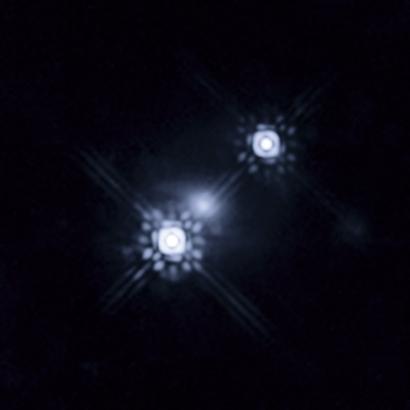 Hubble Photo of Black Hole Quasar