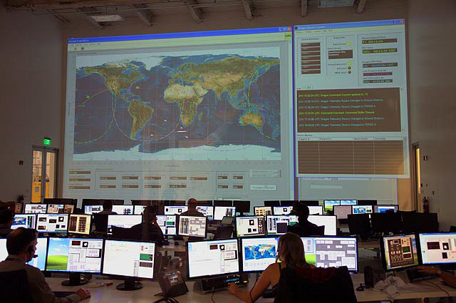 SpaceX's Mission Control Center  SpaceX's Mission Control CenterCredit: SpaceX