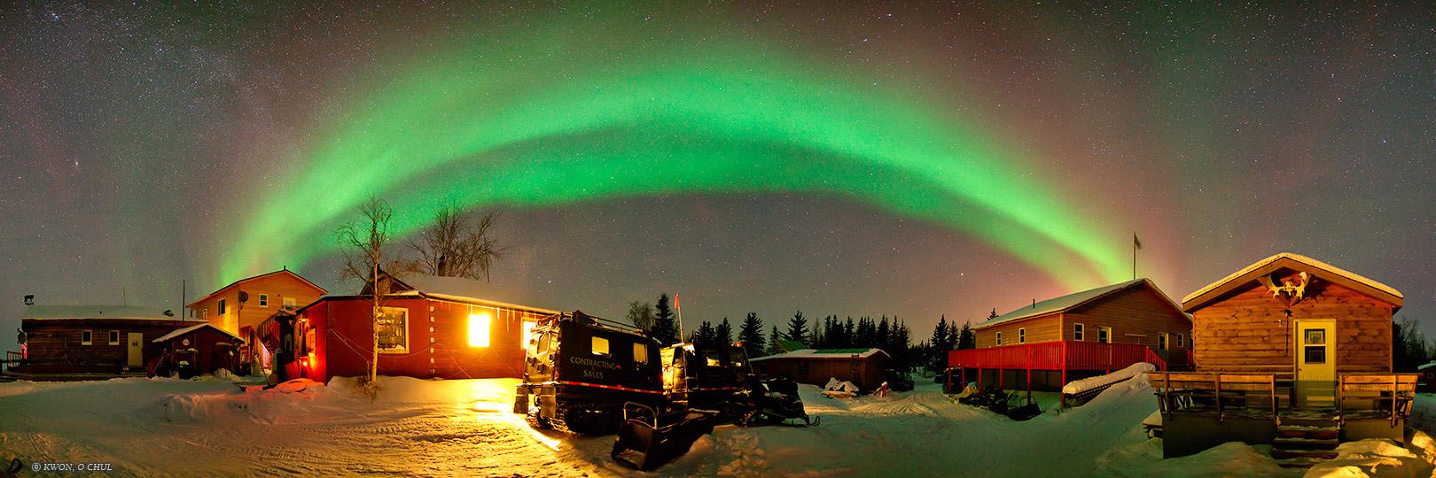 Green Belt Northen Lights