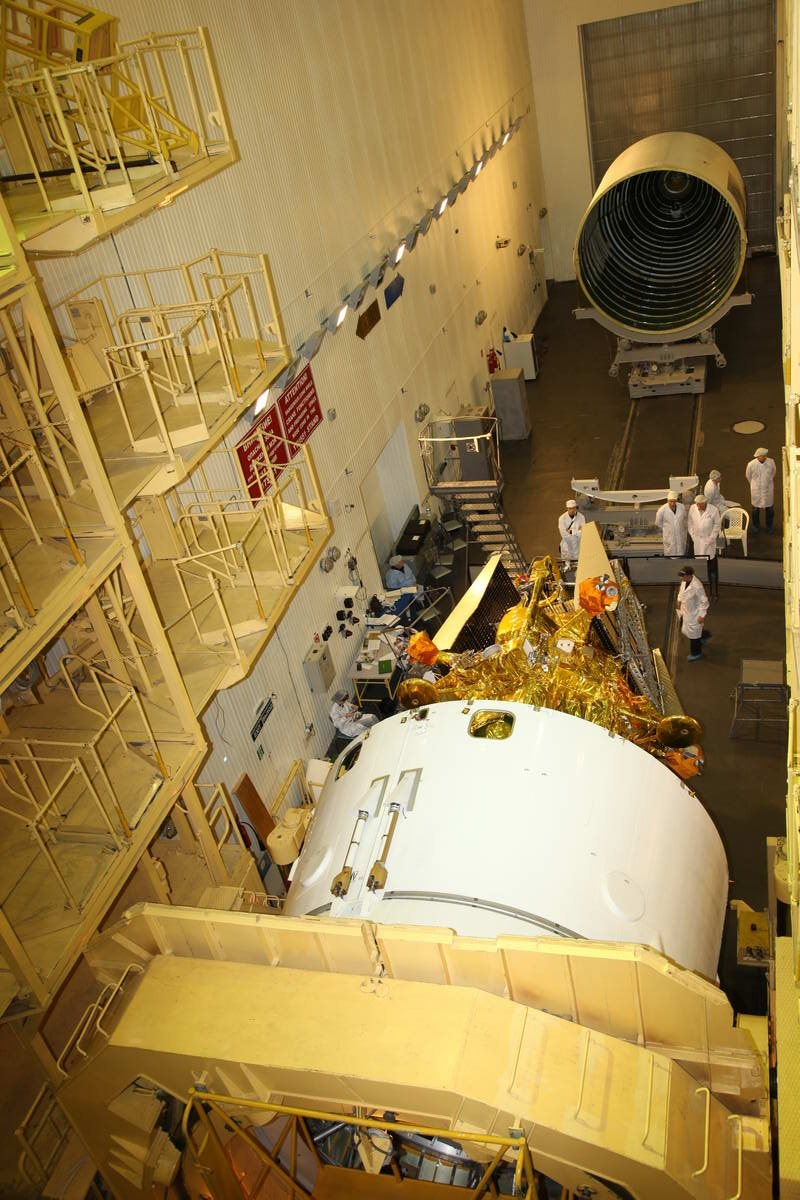 Russia Packs Mars Phobos-Grunt Spacecraft for Launch