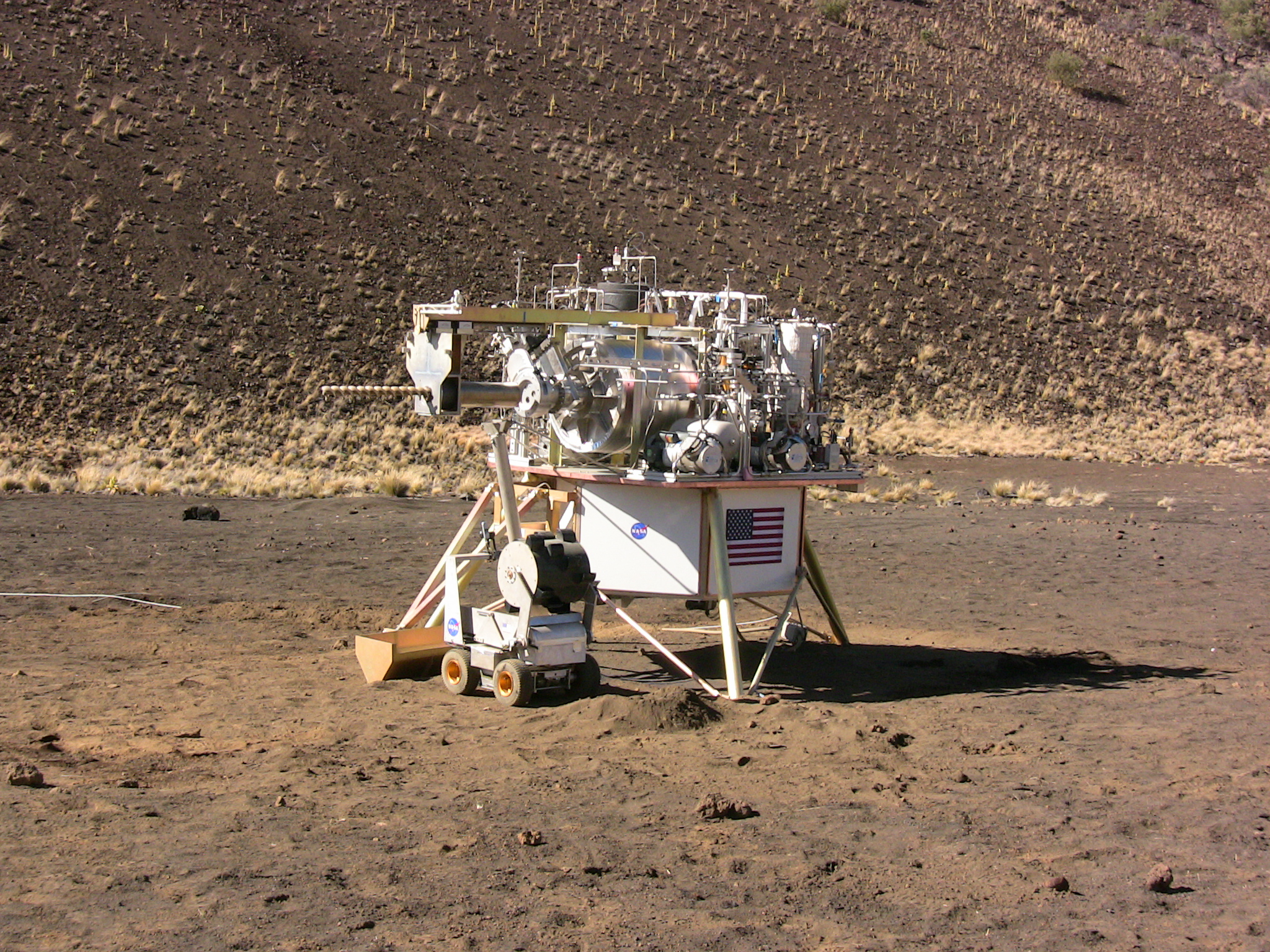 A Volcanic Test Bed