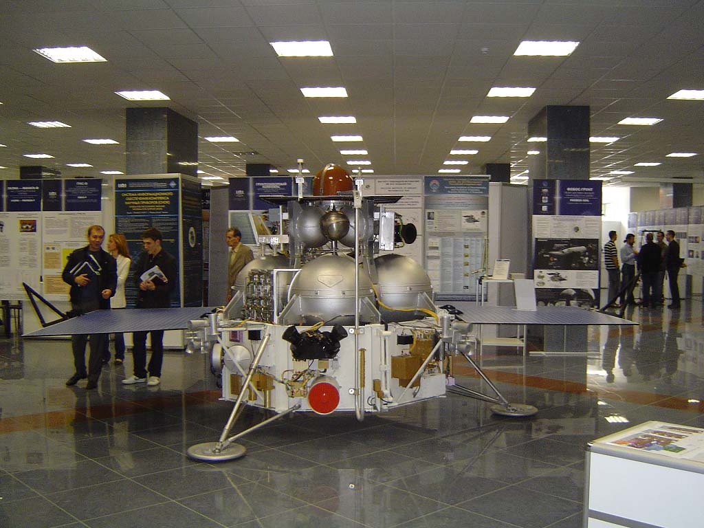 Phobos-Grunt Spacecraft Mockup