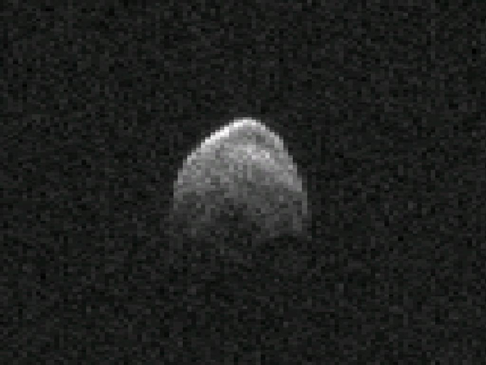 Asteroid 2005 YU55 Nov. 6, 2011, Radar Image