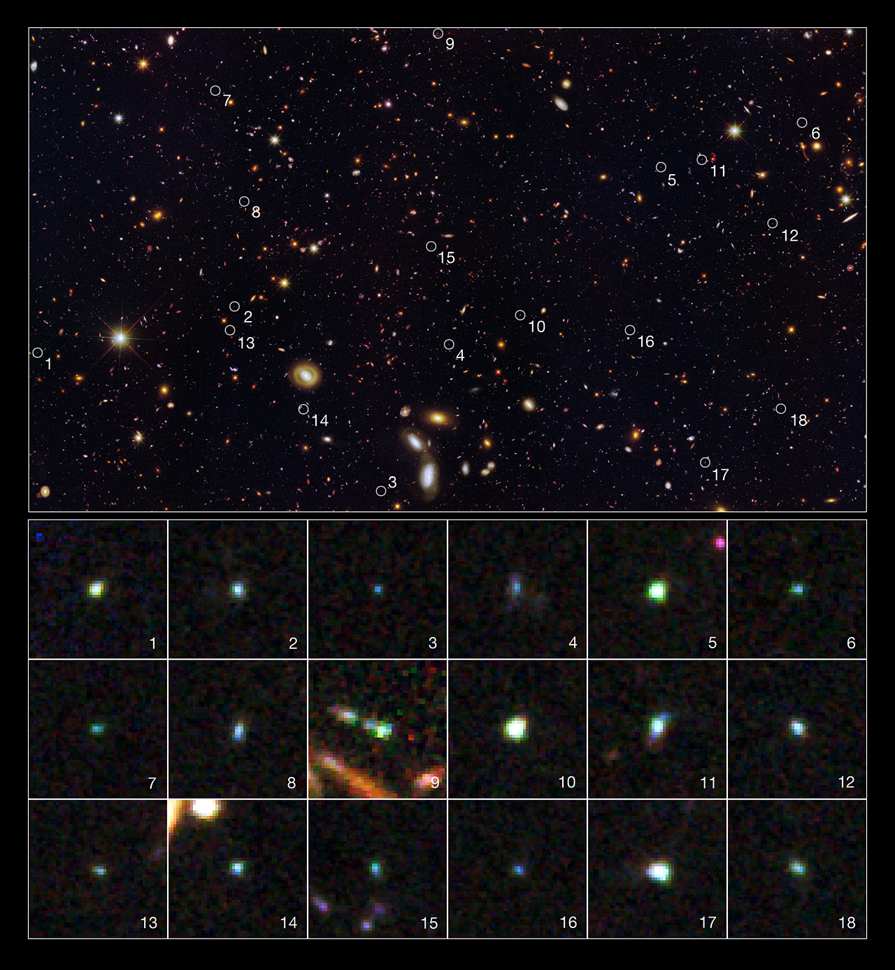 Strange Hyperactive Galaxies Spotted by Hubble Telescope