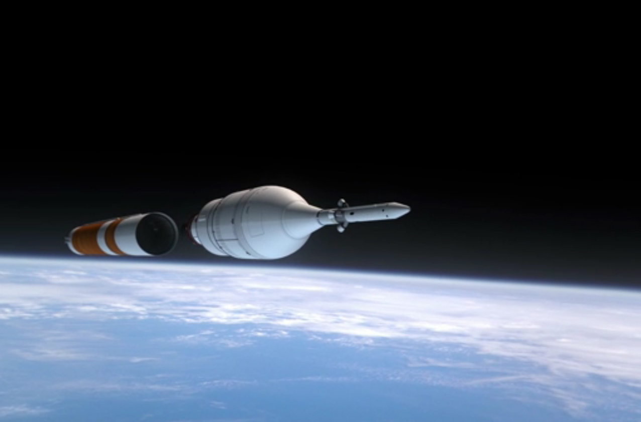 NASA's Orion Exploration Flight Test 1: Separation