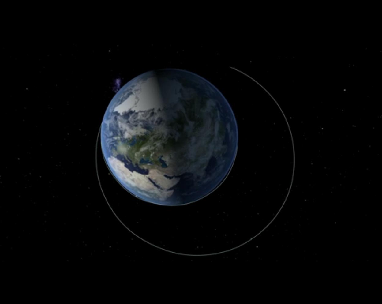 Orion Exploration Flight Test 1: Orbital Path