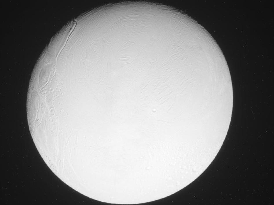 Enceladus Flyby — Nov. 6, 2011