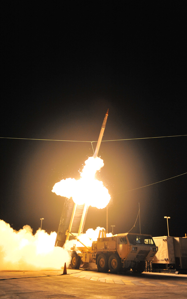 THAAD Test Flight Launch