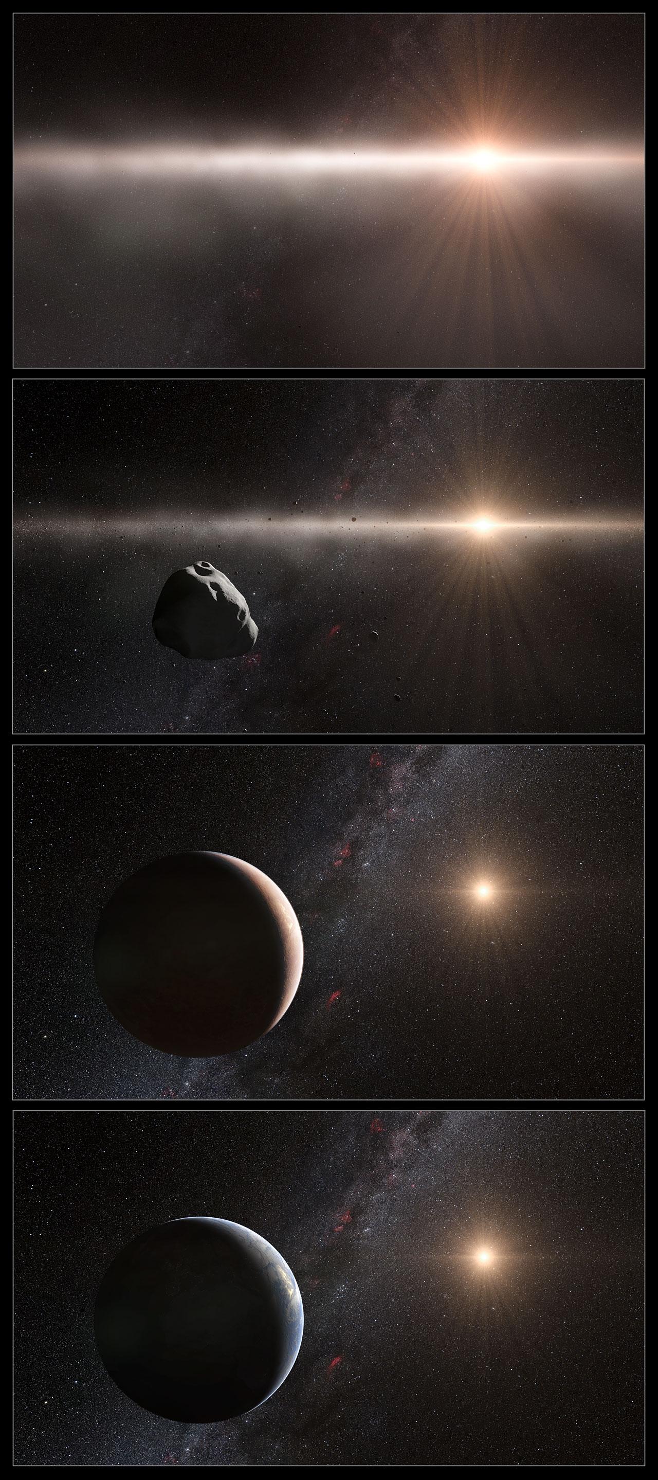 Inner Solar System Evolution