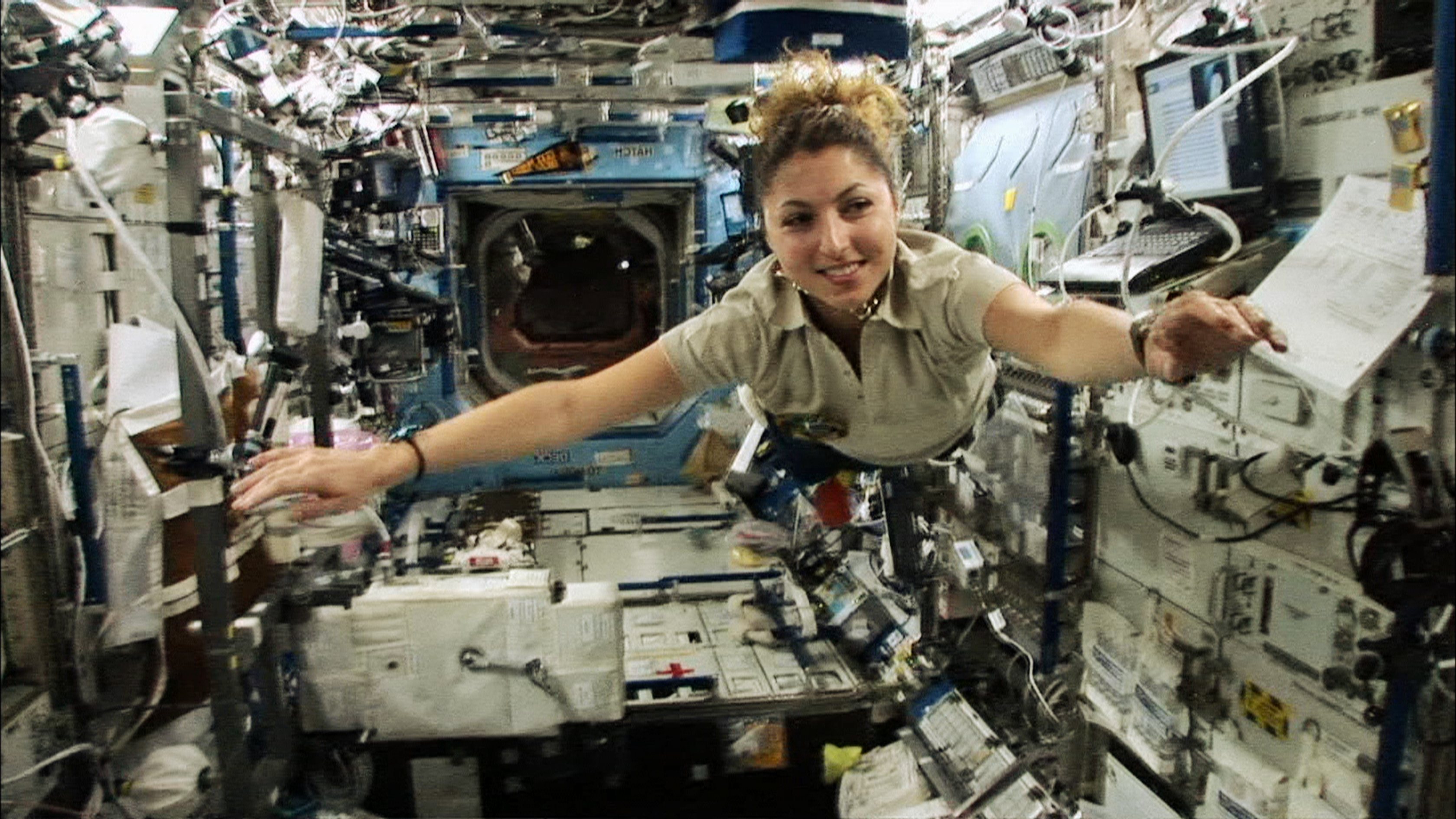 First Female Space Tourist