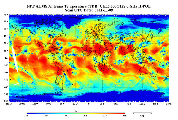 NASA Climate Satellite Takes First Pictures